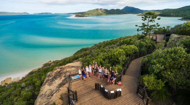 Enjoy your Guided Walk up to the Hill Inlet Lookout