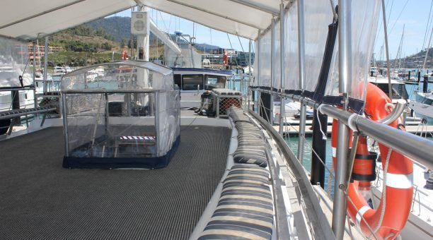Spread out amongst the Shaded Top Deck